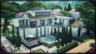 getlinkyoutube.com-The Sims 4: House Building - Mandy 4 (Block party Challenge #4)