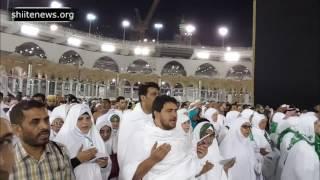 Dua e Imam Zamana ajt at the Kaba, Recited by NohaKhwan Farhan Ali Waris