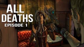 getlinkyoutube.com-Tales from the Borderlands Episode 1 - All Deaths / Death Montage