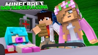 LITTLE KELLYS BABY GIRL IS IN A COMA! Minecraft Future Life | w/LittleDonny (Custom Roleplay)