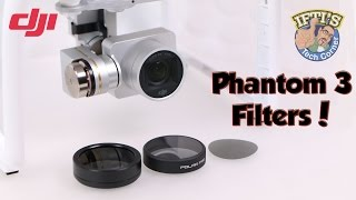 getlinkyoutube.com-DJI Phantom 3 - ND/Polariser Filters & Types - SRP / PolarPro / PhantomFilters