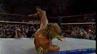 getlinkyoutube.com-Ultimate Warrior vs Ravishing Rick Rude (SNME 07/90)