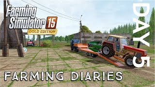 getlinkyoutube.com-Farming Simulator 2015 | Gold Edition Diaries | Day Five