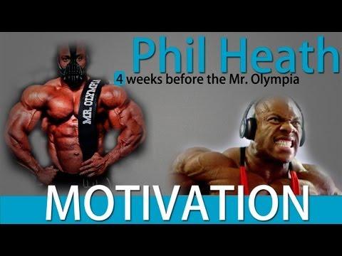 Фил Хит 4 недель до Олимпии 2013