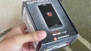 Motorola DROID X2 Unboxing & Hands-on