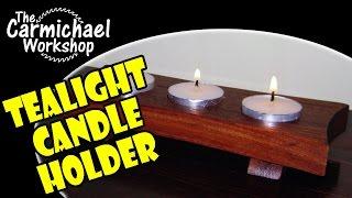 getlinkyoutube.com-How to Make a Tealight Candle Holder - Easy DIY Weekend Project