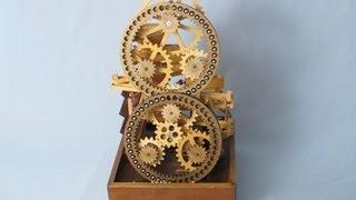 getlinkyoutube.com-Marble Machine - Ring Gear Lift - Figure 8 Transfer - Vortex Funnel
