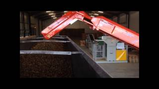 Bulker Loading Potato Elevator with Tong EasyLoad & Storemaker