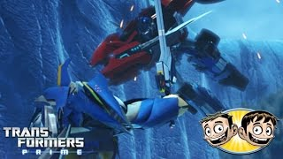 Transformers Prime: The Game - Optimus Prime Vs. Dreadwing - SoooMungry Vs. Erictron