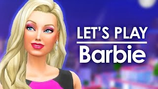 getlinkyoutube.com-Let's Play The Sims 4 Barbie   S03E05   Party Planner