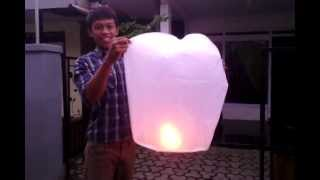 getlinkyoutube.com-JEZINA LIGHT produsen lampion, lantern, lampion terbang (sky lantern), flaying lantern