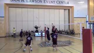 Graham Middle School at Lawson Middle School Boys 8th Grade Volleyball
