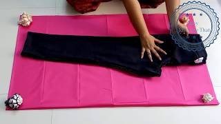 DIY  Hindi Beautiful Pink Palazzo - The Neelz Show