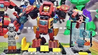 getlinkyoutube.com-sy 미니 헐크버스터 레고 짝퉁 조립 리뷰 Lego knockoff ironman mini HulkBuster