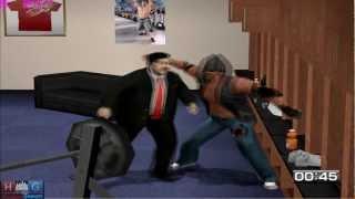 WWE Smack down vs Raw 2011™ PC gameplay: Paul Bearer in Backstage Brawl (Undertaker's RTWM)
