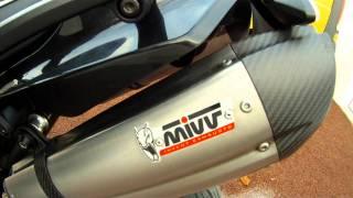 Yamaha XT660X with Mivv (Diabolic Sound) Suono