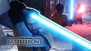 getlinkyoutube.com-Obi Wan Kenobi vs Darth Vader (Glitch) - Cinematic Movie - Star Wars Battlefront