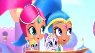 getlinkyoutube.com-Genie Palace Divine Dress Up Game with Shimmer and Shine