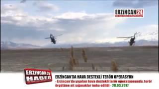 Erzincan'da Pkk'ya Ait Barınak ve Sığınaklar İmha Edildi