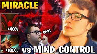 MIRACLE vs MIND CONTROL CRAZY FAST ATK and MOVE SPEED