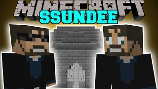 getlinkyoutube.com-Minecraft: SSUNDEE MOD (DERP SSUNDEE, JAILBREAK, & MR CRAINER) Mod Showcase