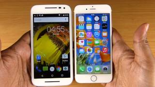 getlinkyoutube.com-MOTO G 3rd Gen vs iPhone 6 - SPEED TEST! (Shocking Result!)