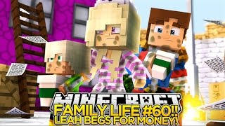 getlinkyoutube.com-Minecraft FAMILY LIFE #60 - BEGGING FOR MONEY ON THE STREETS!! Little Donny Custom Roleplay.