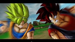 getlinkyoutube.com-Goku vs. Evil Goku [Remastered]