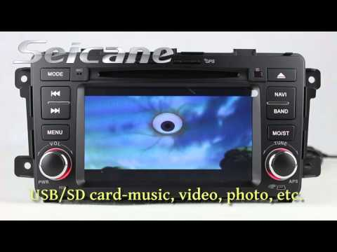 Mazda CX-9 Android 4.0 GPS Navigation Autoradio with 3G WIFI DVD Bluetooth Music