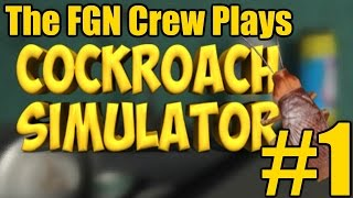 getlinkyoutube.com-The FGN Crew Plays: Cockroach Simulator #1 - Fly on the Wall (PC)