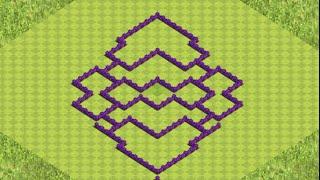 getlinkyoutube.com-Clash of Clans Municipio Livello 7 Farming!