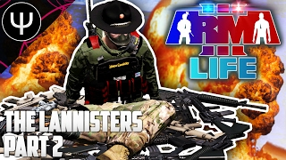 getlinkyoutube.com-ARMA 3: Life Mod — The Lannisters — Part 2 — President Trump's Jail Break!