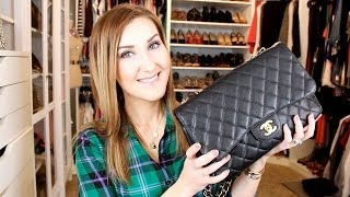 "getlinkyoutube.com-My Chanel Jumbo Flap Story & Advice for Buying ""Preowned"""
