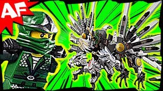 getlinkyoutube.com-EPIC DRAGON Battle & GREEN NINJA 9450 Lego Ninjago Animated Short & Stop Motion Set Review