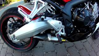 CBR650F Akrapovic Racing Line - Official Full System