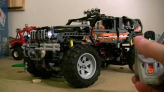 getlinkyoutube.com-LEGO Offroader 8297 4WD motorized