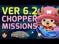 Version 6.2 on Japan! Chopperman Missions, Marineford [One Piece Treasure Cruise]
