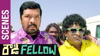 Nara Rohit Displays His Power to Posani & Satya | Rowdy Fellow Telugu Movie Scenes | Vishakha Singh