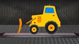 getlinkyoutube.com-Bulldozer   Construction Vehicle   Learn transports