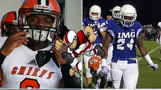 getlinkyoutube.com-IMG Academy vs Miami Carol City highlights