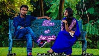 LOVE AT FIRST SIGHT||TELUGU SHORT FILM||A FILM BY G.S.VIJAY||2015