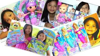 Cra-Z-Sand Lalaloopsy Bubbly Mermaid Doll Barbie Pearl Princess Baby Alive Dolls