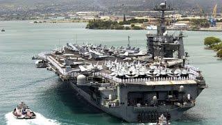 US-Flugzeugträger in Pearl Harbor eingetroffen
