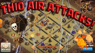 getlinkyoutube.com-TH10 LaLoon Rules the Day! New Air META 3 STAR ATTACKS w/ Queen POP Clash of Clans