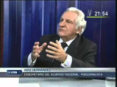 MAX HERNANDEZ (Psicoanalista)