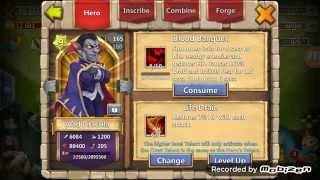 getlinkyoutube.com-Castle clash Vlad evolved from zero to hero!!!