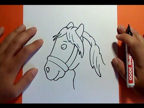 Como dibujar un caballo paso a paso 4   How to draw a horse 4