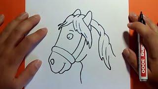 getlinkyoutube.com-Como dibujar un caballo paso a paso 4 | How to draw a horse 4