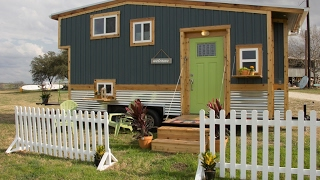 The Good Life In This Tiny House (With 2 Decks)