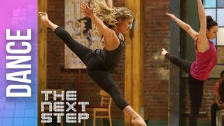 "getlinkyoutube.com-The Next Step - Extended Dance: ""Oxygen"" Trio (Season 4)"